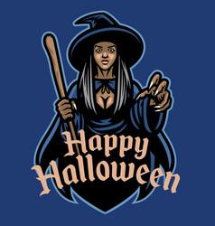 lafy wizard mascot character vector image