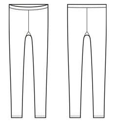 Leggings vector
