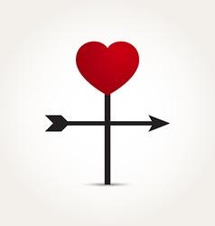 Love Heart Direction Arrow vector