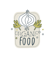 organic foog logo template design element for vector image
