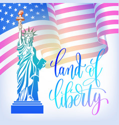 Poster to 4th july usa independence day banner vector