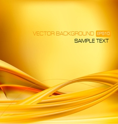 abstract gold neon background vector image