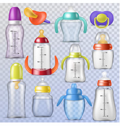 babottle kids plastic container vector image
