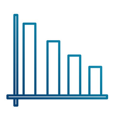 Bars stats graph vector