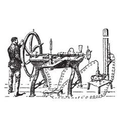 gas liquidation vintage vector image