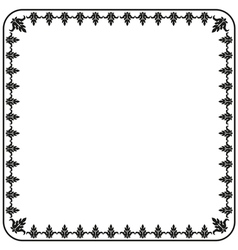 Gothic ornament decorative vintage elements vector