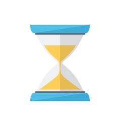 Sand clock Time wait symbol vector