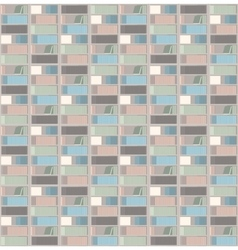 Flat style books shelf pattern vector