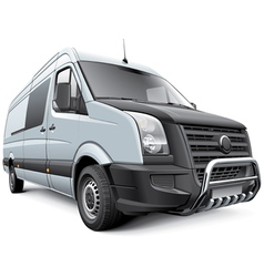 Germany commercial vehicle vector image