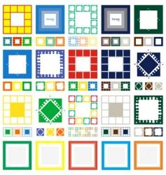 20 frames vector image