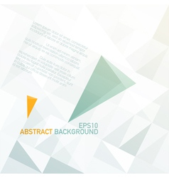 Abstract triangle shapes background vector