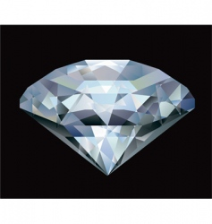diamond illustration vector image