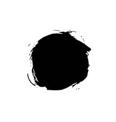 grunge ink pen stroke vector image