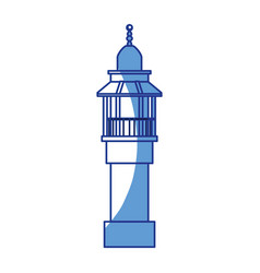 Lighthouse isolated symbol vector