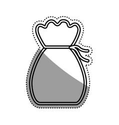 money bag symbol vector image