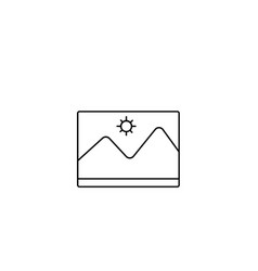 picture icon image symbol modern simple flat for vector image
