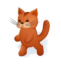 Plush kitty vector