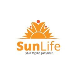 Sun Life Logo vector image