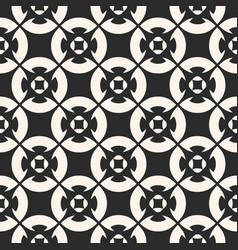 Seamless pattern monochrome mosaic texture vector