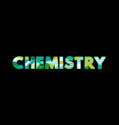 Chemistry concept word art vector