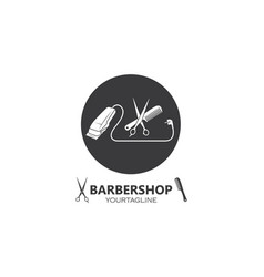 Clippers icin for barber business vector
