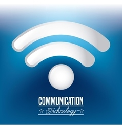 Communication technology design vector