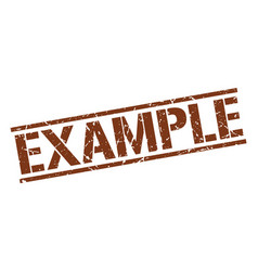Example stamp vector