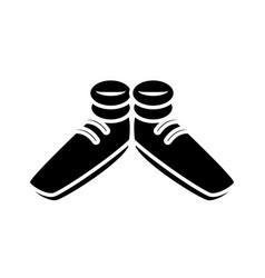 funny shoes cartoon vector image