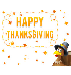 Giving thanks for blessing of harvest holiday vector