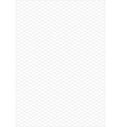 isometric grid paper a3 portrait vector image