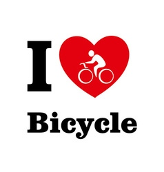LBicycle vector image
