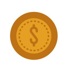 money coin icon vector image