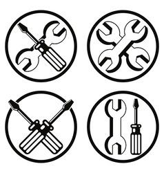 Repair icon set vector