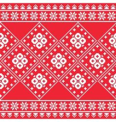 Ukrainian Eastern European folk art embroidery pa vector image vector image