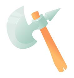 ax icon cartoon style vector image vector image