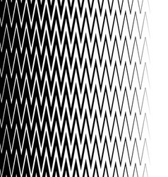 Edgy pointed zigzag lines jagged lines vertically vector