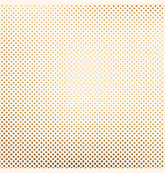 Geometric background with golden squares vector