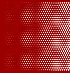 halftone pattern background star shapes vintage vector image