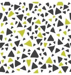 Hand drawn triangle seamless pattern vector