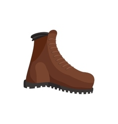 Hunting boots icon cartoon style vector image