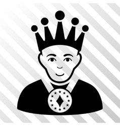 King Icon vector