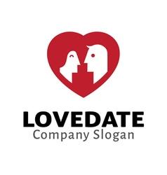 Love Date vector
