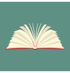 New book flat icon vector