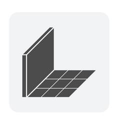 tile floor icon vector image