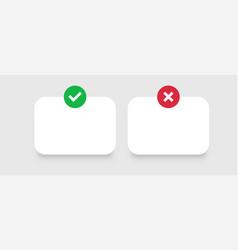 Web windows template positive green query and vector