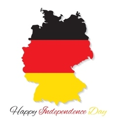 Germany Happy Independence Day vector image vector image