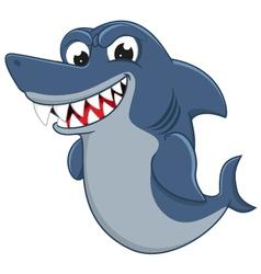 Cool Shark cartoon vector image