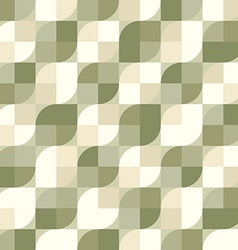 Seamless vintage tiles background vector image vector image