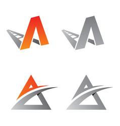 a logo concept design vector image