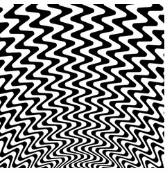 Abstract starburst background with zigzag wavy vector